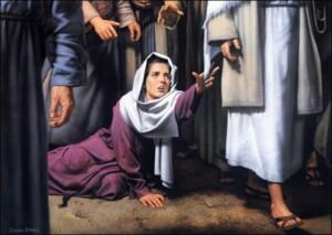 Canaanite woman - color